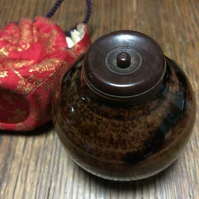 Tea Caddy Ceremony Chaire Sado Japanese Traditional Crafts t773