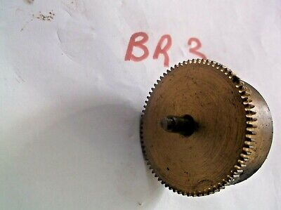 Mainspring Barrel From An Old 4X4 Westminster Chime  Mantle Clock  Ref Br3