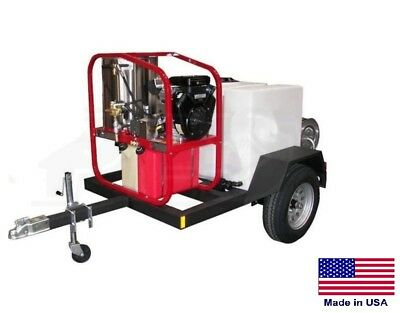 PRESSURE WASHER Commercial - Hot, Cold & Steam - 5 GPM - 3000 PSI - Vanguard