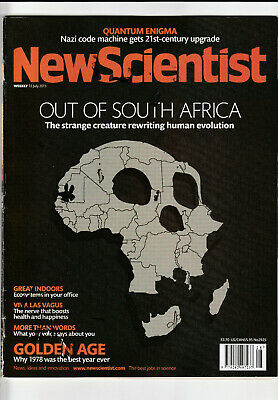 NEW SCIENTIST Magazine 13 July 2013 - Out Of South Africa