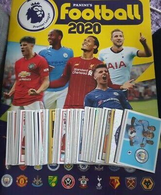 Panini Premier League Football 2020 Stickers *10 for £1.40*