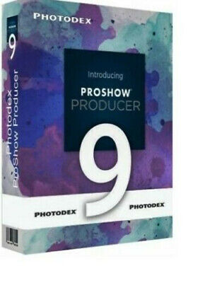 🔥Photodex Proshow Producer 9 ✔Full Version ✔ Lifetime Licence ✔ Fast Delivery🔥