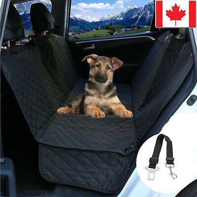 Waterproof Dog Car Seat Cover Hammock for Cat Pet SUV Back Rear Bench Protector