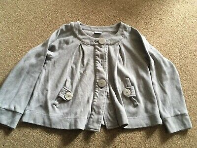 Girls, Next, Grey, Buttoned, Jacket. Age 10yrs NEW
