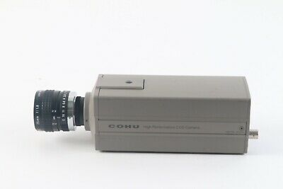 COHU 4915-2000/0000 High Performance CCD Camera W/ Camera Lens