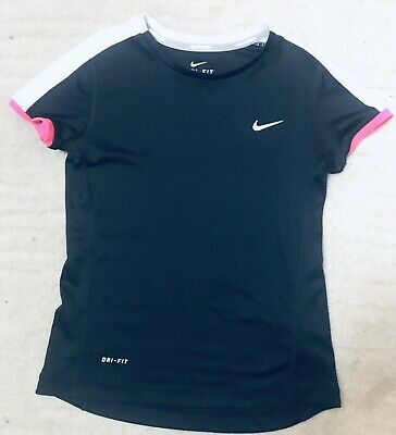 Girls Cute Nike Dri-fit Running Black Tshirt Size S Hardly Worn 🖤
