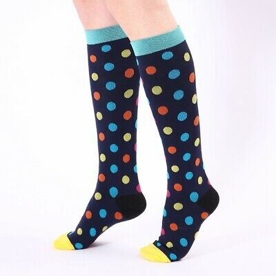 3 Pairs of Sports Stockings Support Stockings Knee High Stockings Athletic Socks