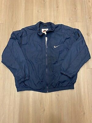 vintage Nike 90s Windbreaker Size L made in mexico Men's Swoosh Track
