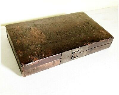 Antique Chinese Leather Box (2919), Circa mid of 19th century