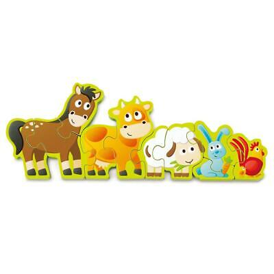 Numbers & Farm Animals Puzzle - Hape Free Shipping!