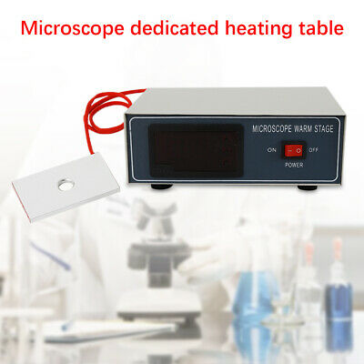 Microscope Heating Stage Digital Control Constant Thermostat Heating Board hot