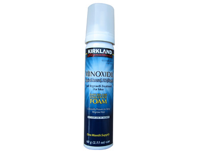 Kirkland Hair Regrowth Treatment Minoxidil 5% Foam for Men - 1 Month Supply