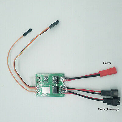 Für RC Tank Auto 16:1 BEC 4CH Two Way Brushed ESC Motor Speed Controller 2~3S