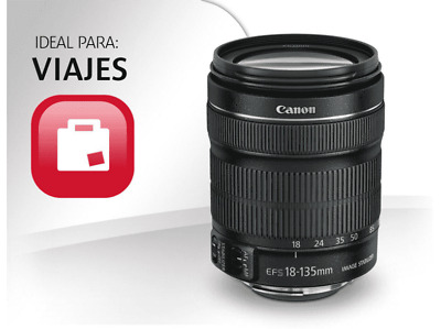 Objetivo - Canon EF-S 18-135 mm IS STM
