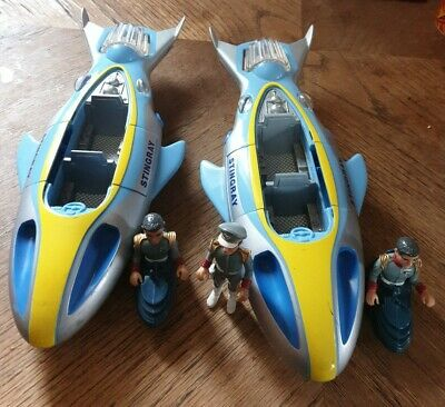 Stingray Gerry Anderson Matchbox 2 x Submarine and 3 x figures 1992