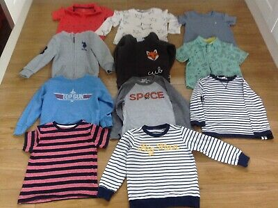 Boys job lot clothing age 2/3 11 tops/Shirt/jumpers 8 bottoms/denims/jeans/leggi
