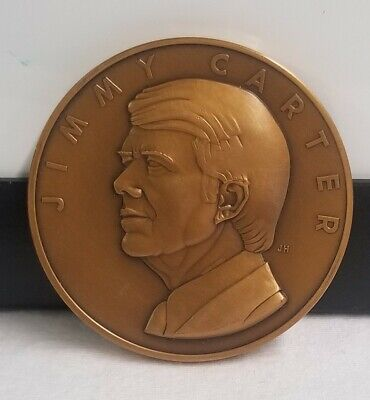 Official 1977 Jimmy Carter Inauguration Medal 5336
