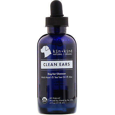 Clean Ears, Dog Ear Cleanser, 4 fl oz (118 ml)