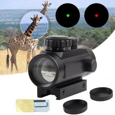 Tactical Gun Green Red Dot Laser Scope Holographic Sight with Cross Riflescope