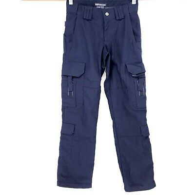 Womens 5.11 Tactical Series Navy Blue Cargo Pants Size 2 Work Utility