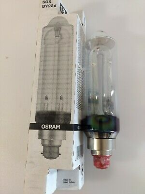 OSRAM 18W SOX BY22d low pressure sodium