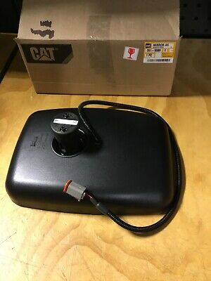 CATERPILLAR CAT Wheel Loader Heated Rear View Mirror Assembly - 351-9089 - NEW