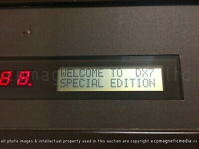 YAMAHA DX7 - Special Edition Operating System ROM - Latest OS  FM DX-7 Not DX7S