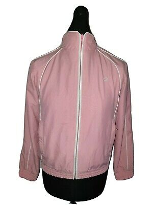 Girls Vintage FRED PERRY Full Zip Track Top Age 15-16 Years