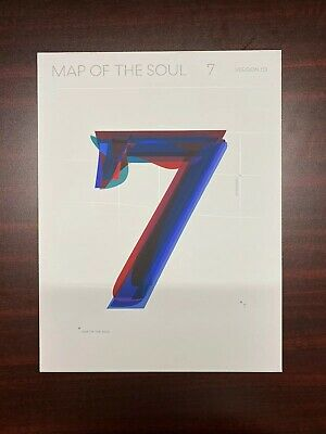 BTS -  MAP OF THE SOUL : 7  Album VERSION 03 (NO PHOTOCARD)
