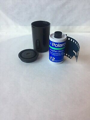 Polaroid PolaPan 35mm Instant Black/White Slide Film (12 Exposures)