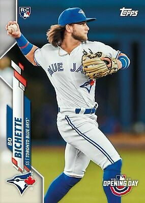 2020 Topps Opening Day Baseball 173 Bo Bichette Rookie Card RC Toronto Blue Jays