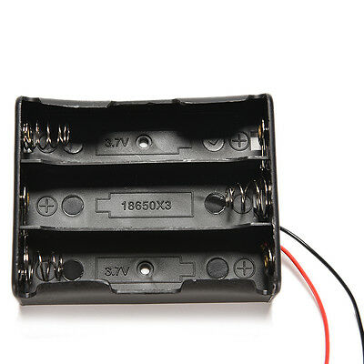 5Stks Plastic Battery Storage Case Box Holder For 2 X AA 2xAA 3V with wire leads