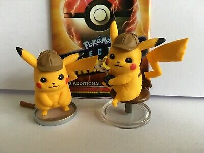 Detective Pikachu Cafe Figure Collection & On the Case Figures Twin Pack