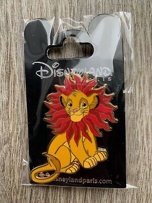 Pin Disney Disneyland Paris Le Roi Lion The Lion King Simba Fleur Flower OE