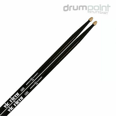 4 Paar Vic Firth Value Pack 5A Black 5AB American Classic Sticks Drumsticks  TOP