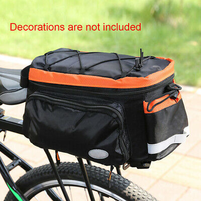 Carrier Luggage Storage Bike Trunk Bag Rear Rack Outdoor Cycling Camping Bicycle