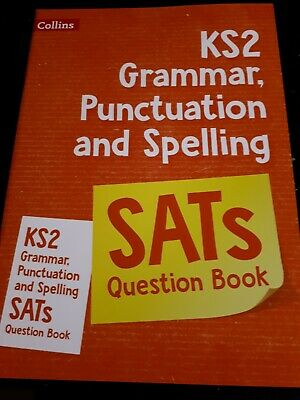 SATs Practise Question Spelling/Grammar/Punctuation Book For KS2