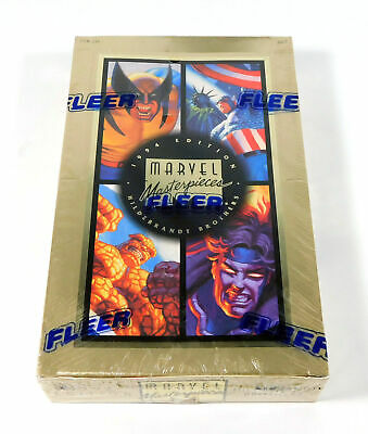 1994 Fleer Marvel Masterpieces Trading Card Box Sealed (36 Packs)