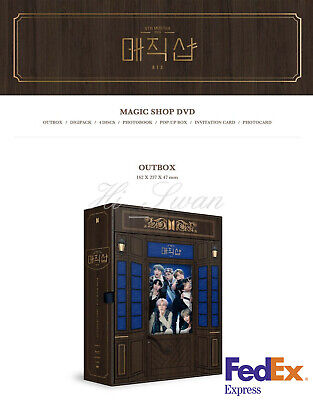 [Bts] - Bts 5Th Muster [Magic Shop] Dvd Official Goods + Free Tracking Number