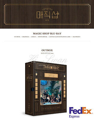 [Bts] - Bts 5Th Muster [Magic Shop] Blu-Ray Official Goods + Free Tracking Num#