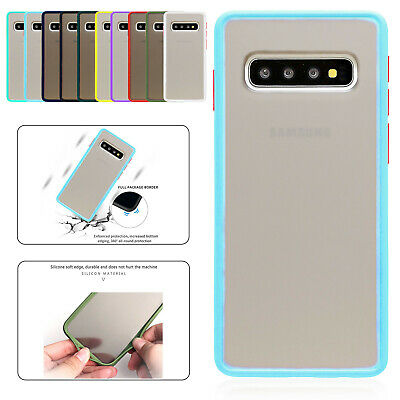 Matte Translucent Case For Samsung Galaxy S20 S10 S9 S8 Plus Silicone Cover