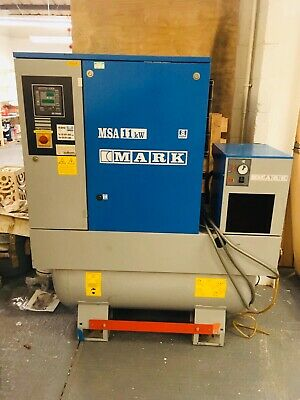 MARK MSA 11kw Mounted Rotary Screw COMPRESSOR With DRYER
