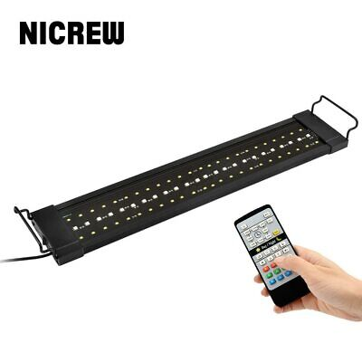 NICREW Lamp for Aquarium Fishing LED Lighting 24/7 Hour Automated with