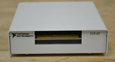 National Instruments SCB-68 SCB-68 Shielded 68-Pin I/O Connector Block Qty Avail