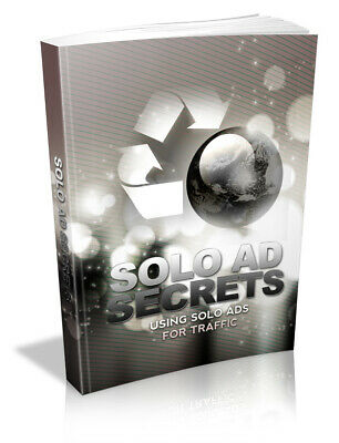 Solo Ads Secrets Digital Book be more engaging and focused to get traffic