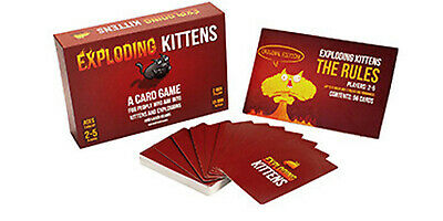Exploding Kittens Card Game Original Edition Brand 2-5 Players New & Sealed gift