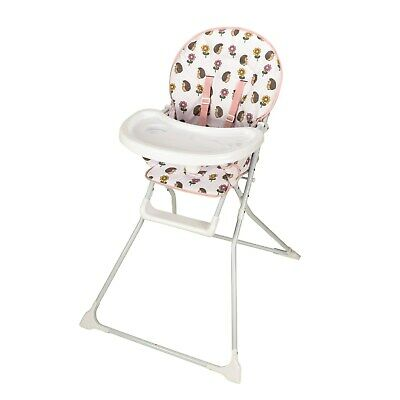 Jane Foster Classic Highchair - Hedgehog - Waterproof Easy Clean Foldable