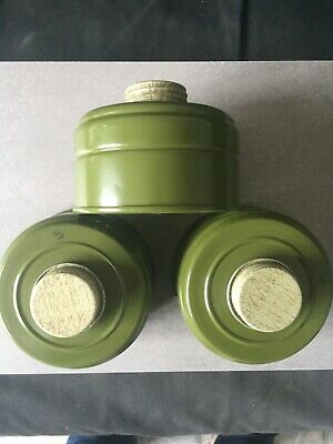 3 PCS Original NEW Soviet Russian USSR gas mask Filter  GP-5 GP-7 GP-4 PDF PMK
