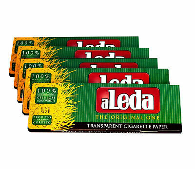 ALEDA King Size See Through Clear Transparent Papers  - From BRAZIL