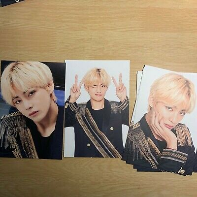 V BTS Official World Tour Love Speak Yourself The Final Seoul Photo Card